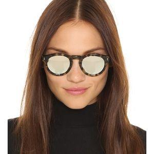 Illesteve Leonard silver tortoise sunglasses